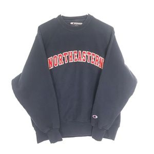 VTG Northeastern crewneck sweatshirt